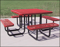 Coated metal tables coated metal tables with color choices watchthetrailerfo