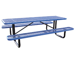 Coated metal tables commercial grade coated metal tables watchthetrailerfo