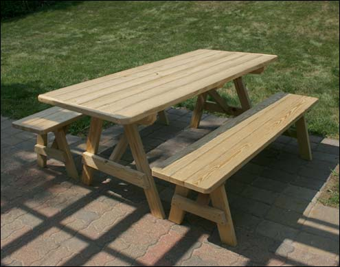 Browse Our Picnic Tables Benches And Chairs By Material