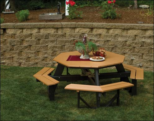 Outdoor Picnic Table Sets Benches Without Backs