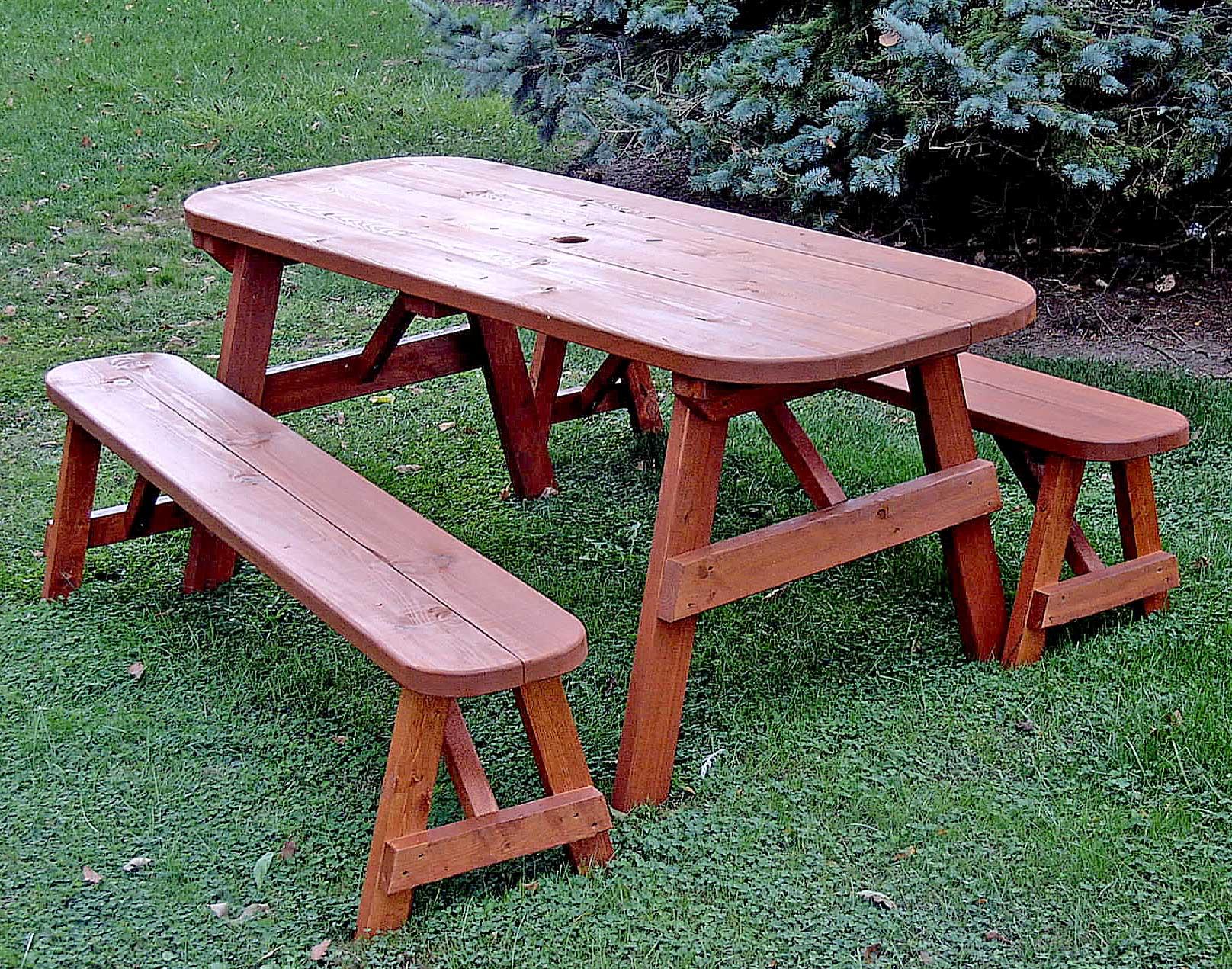 Столы для сада своими руками