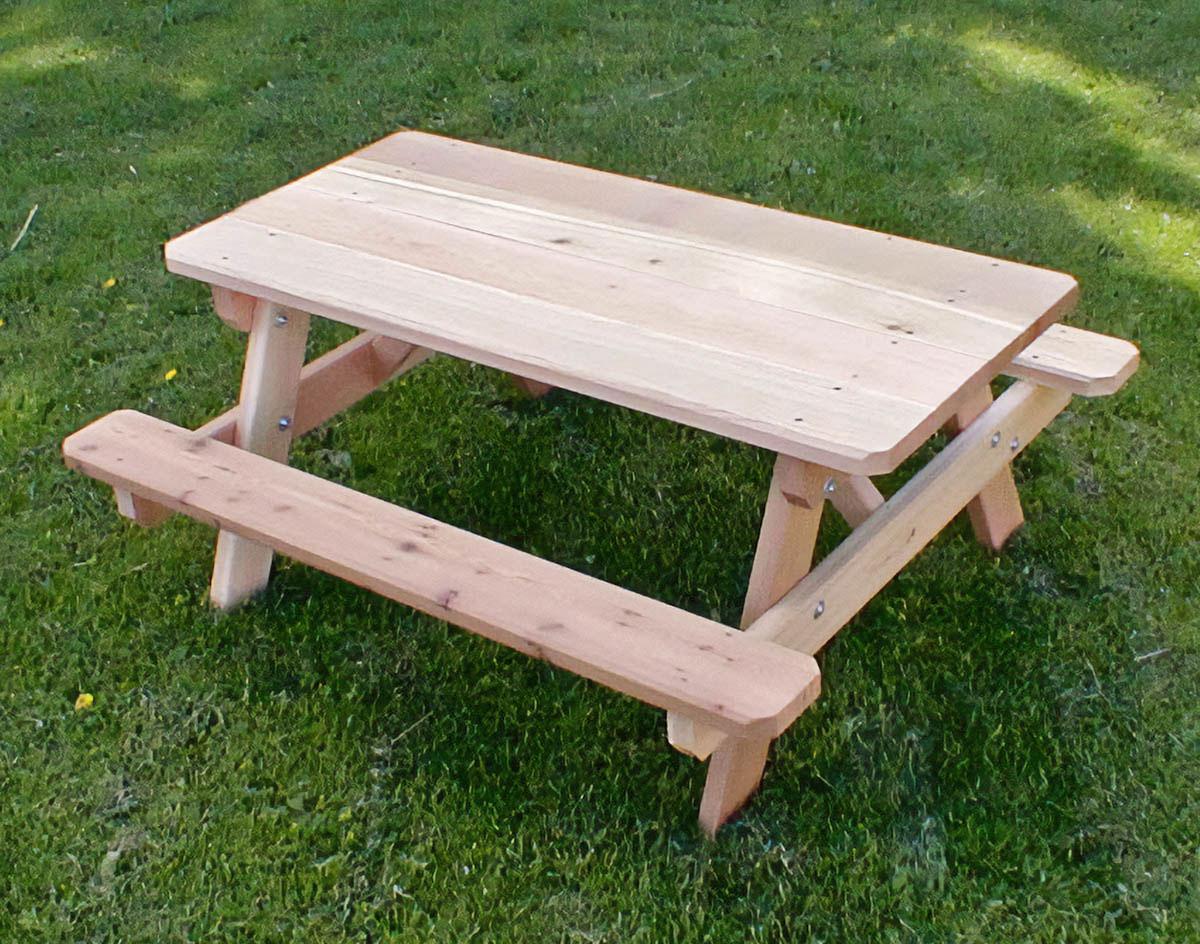 Столик со скамейками своими руками 338