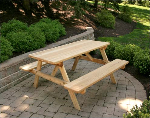 picnic tables lowes
